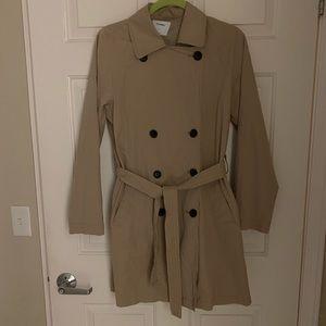 Old Navy Tan Trench Coat